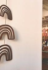 Savvie Studio Wooden Rainbow Wall Charm