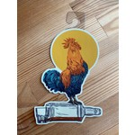John Vogl / The Bungaloo Whiskey Rooster Sticker
