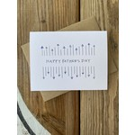 Lacelit Father's Day Arrows Greeting Card