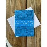 Exit343Design Father's Day Tie Greeting Card