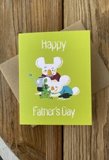 Kineticards Father's Day Koala Greeting Card