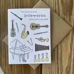 Lacelit Instrumental Role (Dad) Greeting Card