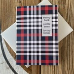 Design With Heart Gentle Heart Loving Father Greeting Card
