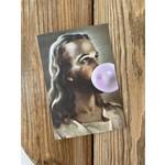 Artist Jason Jones The Big Bang Jesus Bubblegum Postcard