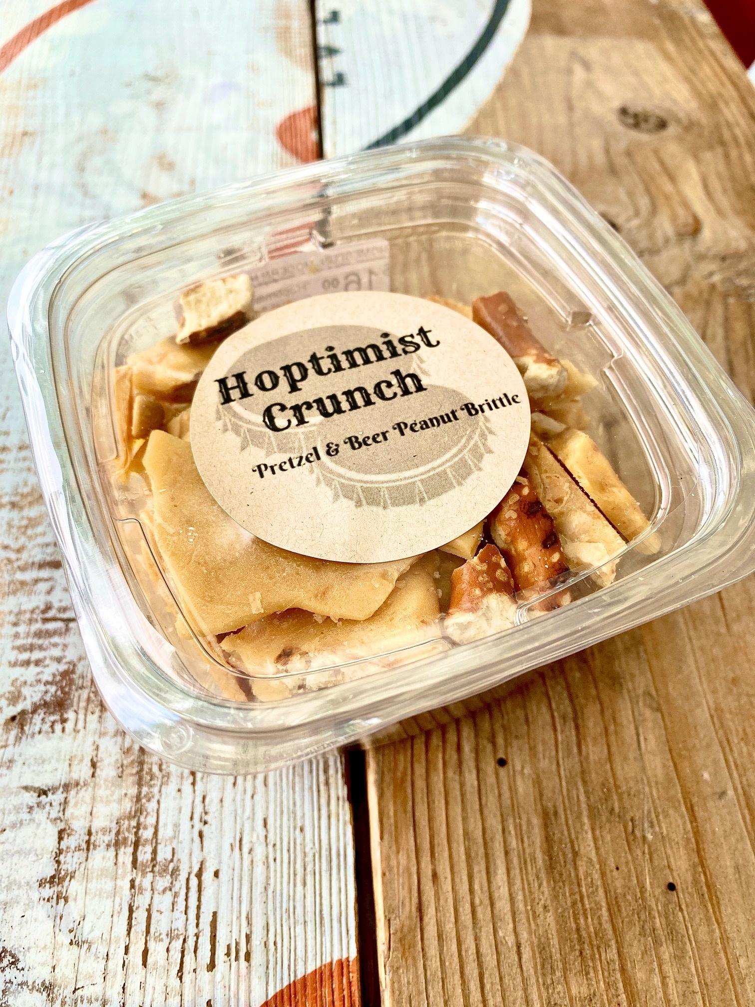 "Newfangled Confections ""Hoptimist Crunch"" Pretzel & Beer Peanut Brittle"