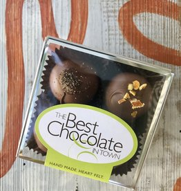 The Best Chocolate In Town Father's Day Truffle 4pc. Box