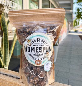 Just Pop In! Homespun: Dark Chocolate Ginger + Sea Salt Popcorn Kraft Bag