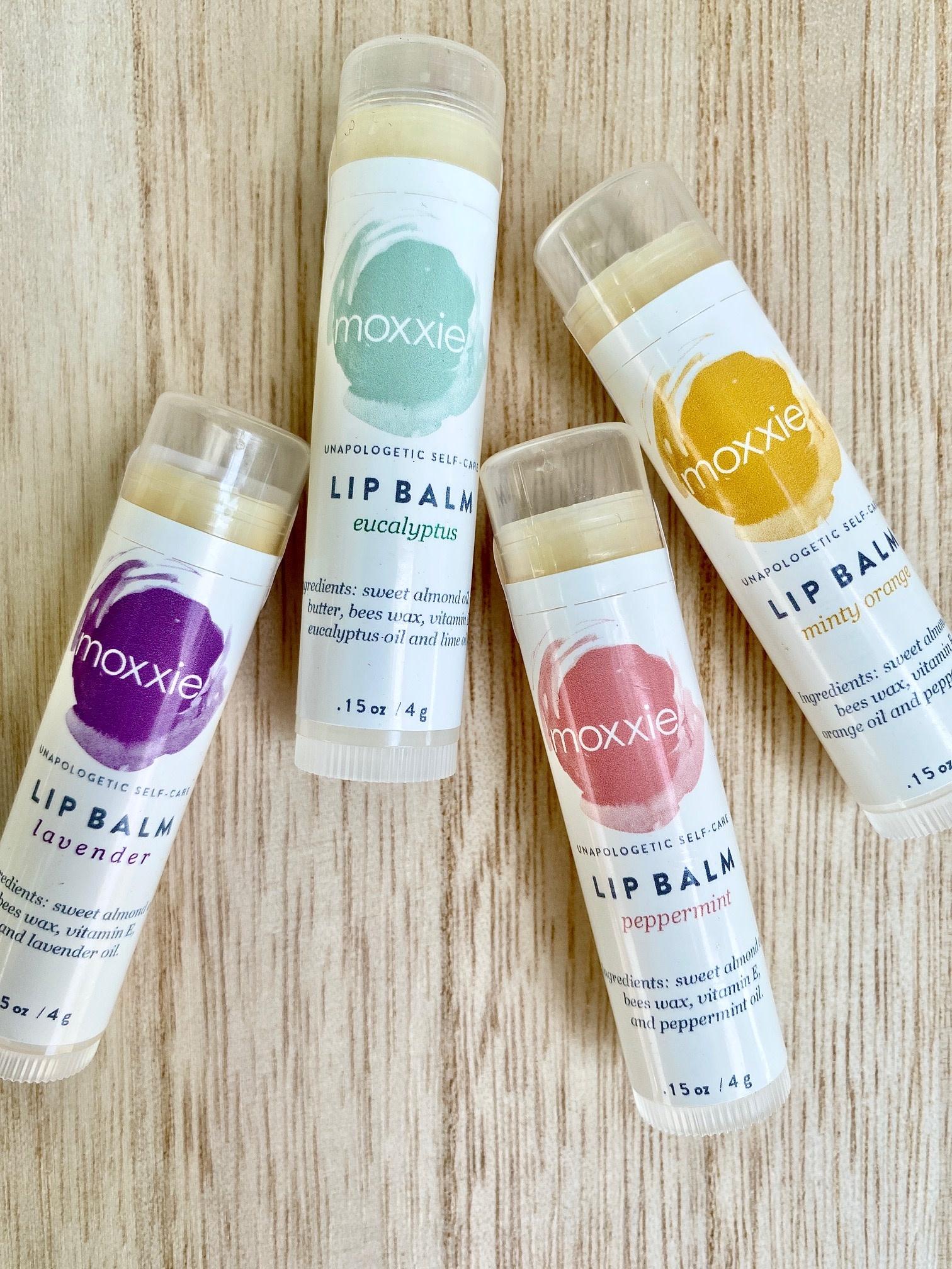 Moxxie Essential Care (BO) Natural Lip Balms