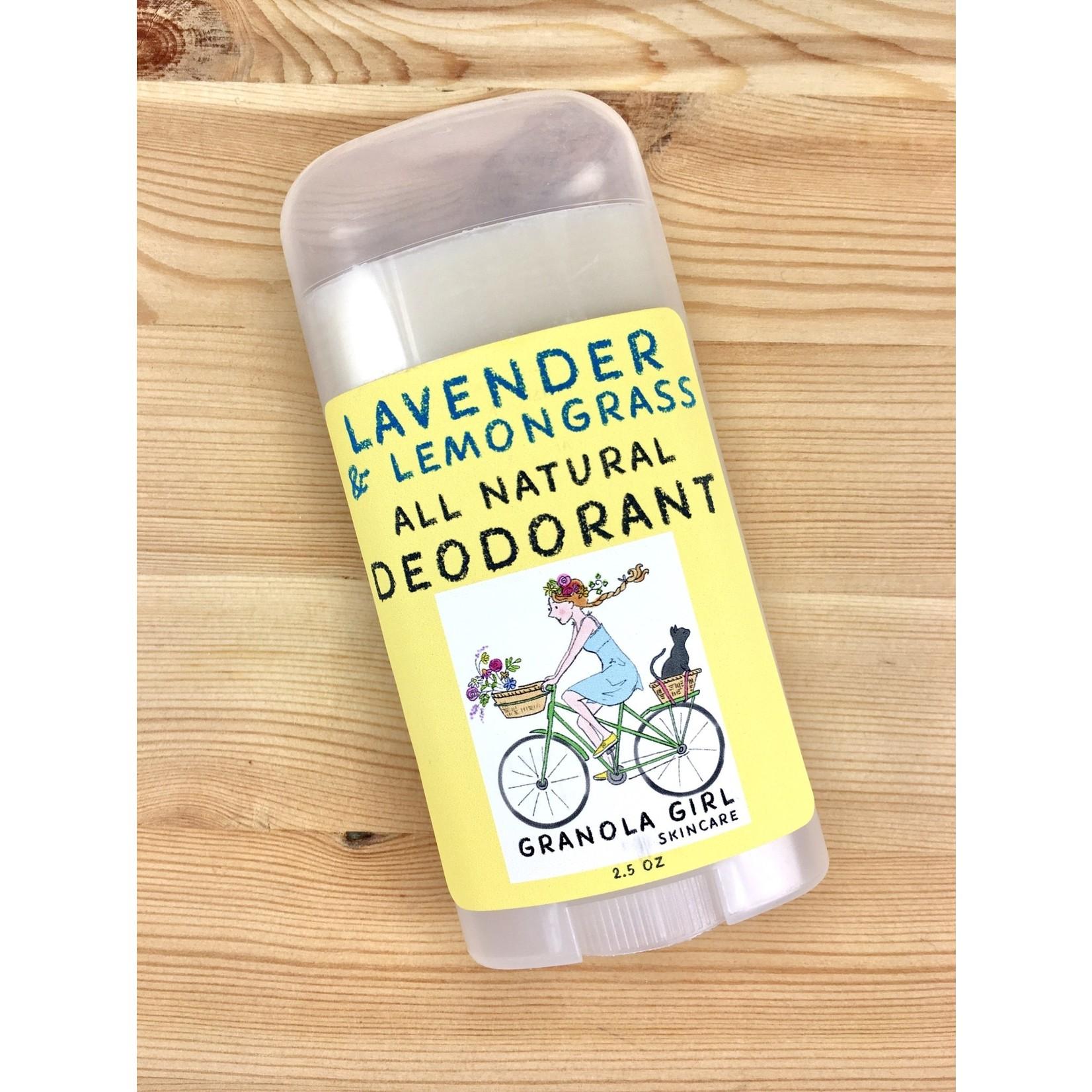 Granola Girl Skincare /Teehaus Bath + Body (QO) Granola Girl All-Natural Deodorant