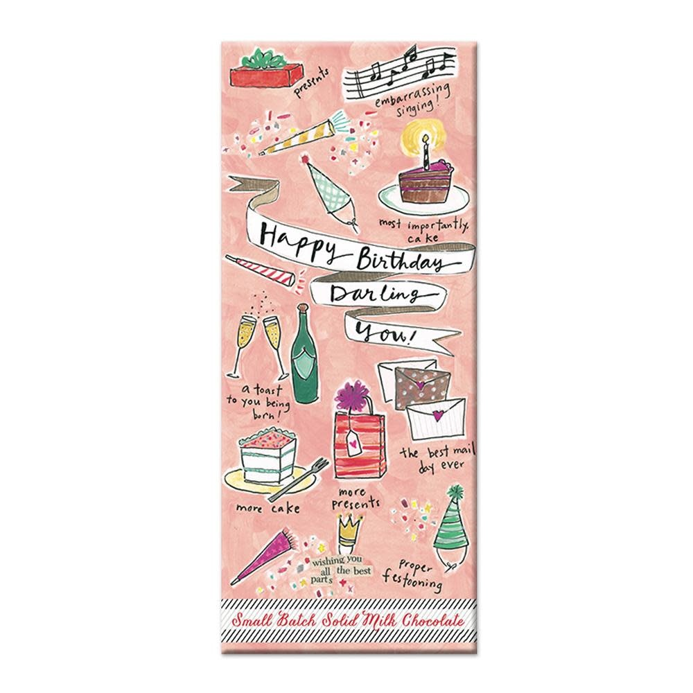 Curly Girl Design Curly Girl Milk Chocolate Bars