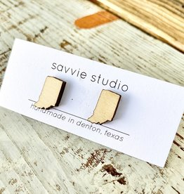 Savvie Studio Birch Indiana Post Earrings