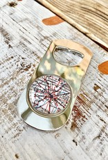 Daisy Mae Designs Indianapolis Map Bottle Opener