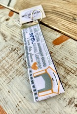 Gather Home / Tandem For Two Indiana Bucket List Key Fob