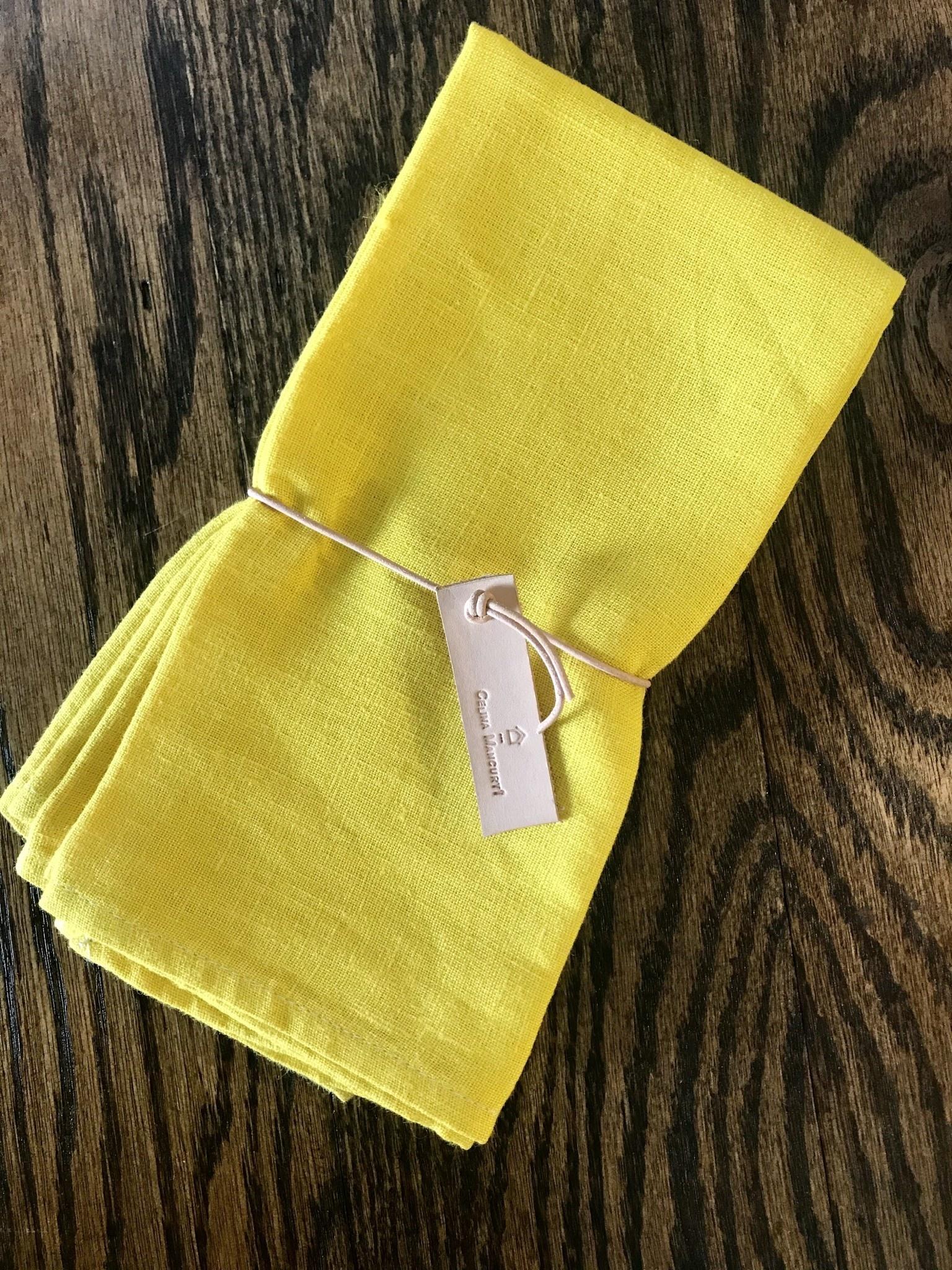 Celina Mancurti Linen Napkin Sets of 2