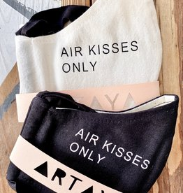 ARTAYA LOKA (BO) Adult Face Masks: Air Kisses Only