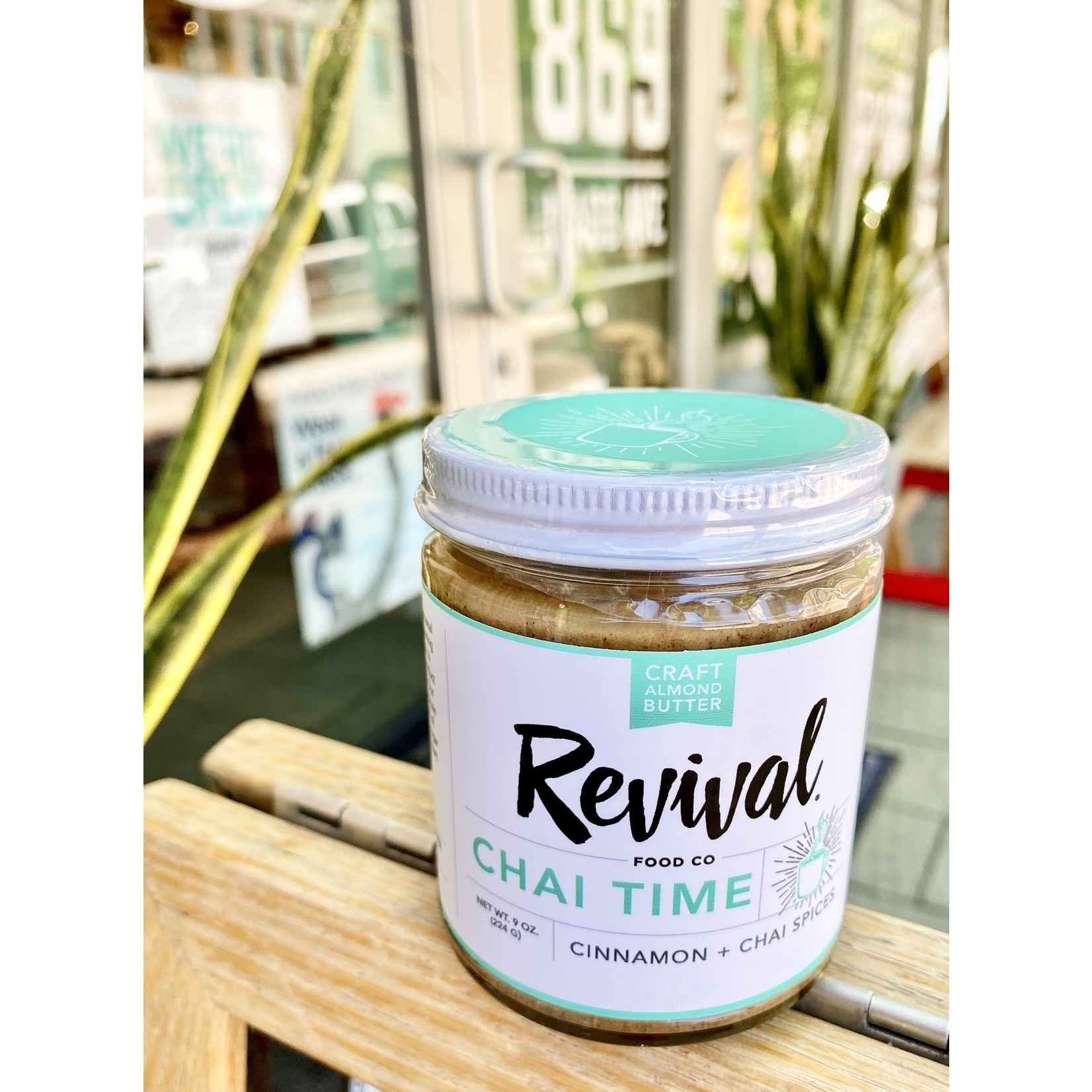 Revival Food Co. Almond Butter 9oz. Jars