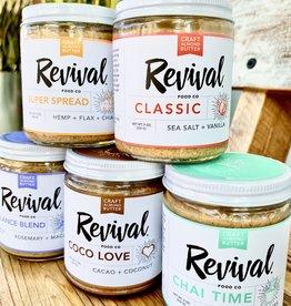 Revival Food Co. Almond Butter 9oz. Jars
