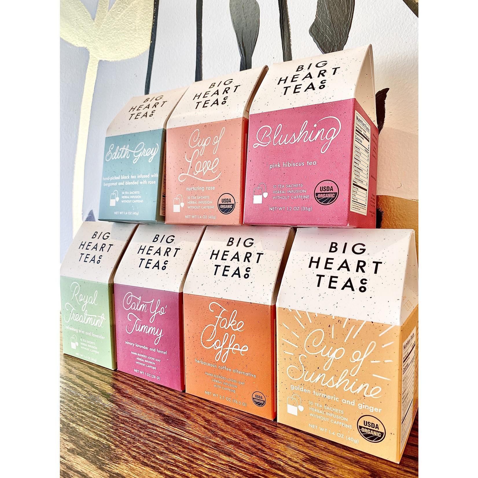 Big Heart Tea Co. Herbal Tea Bag Boxes