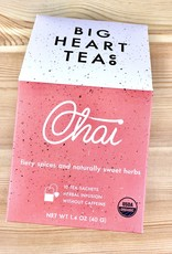 Big Heart Tea Co. Herbal Tea Bag Boxes
