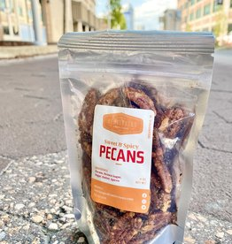 Newfangled Confections Sweet & Spicy Pecans - 4 oz. Bag
