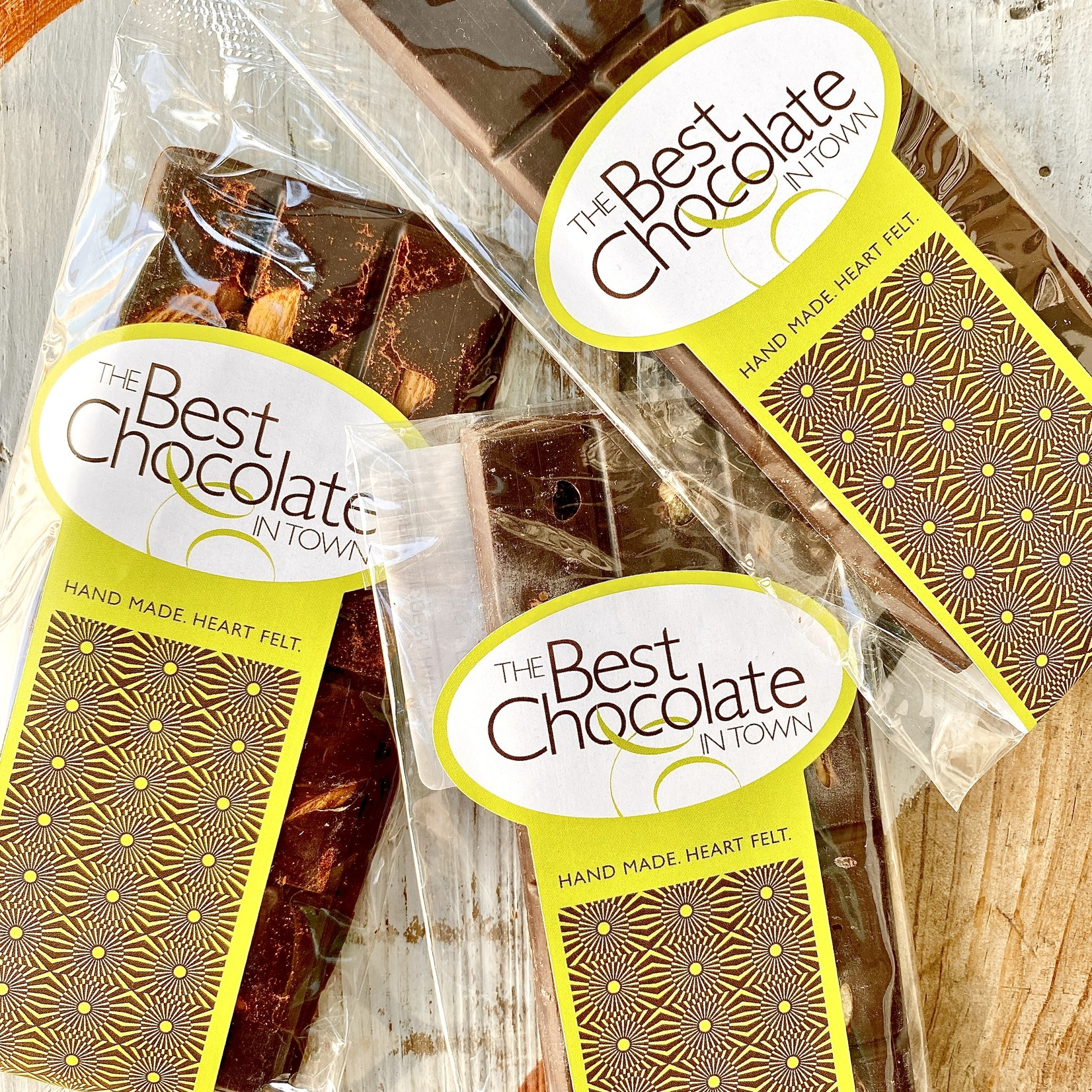 The Best Chocolate in Town (POC) Assorted Dark Chocolate Bars