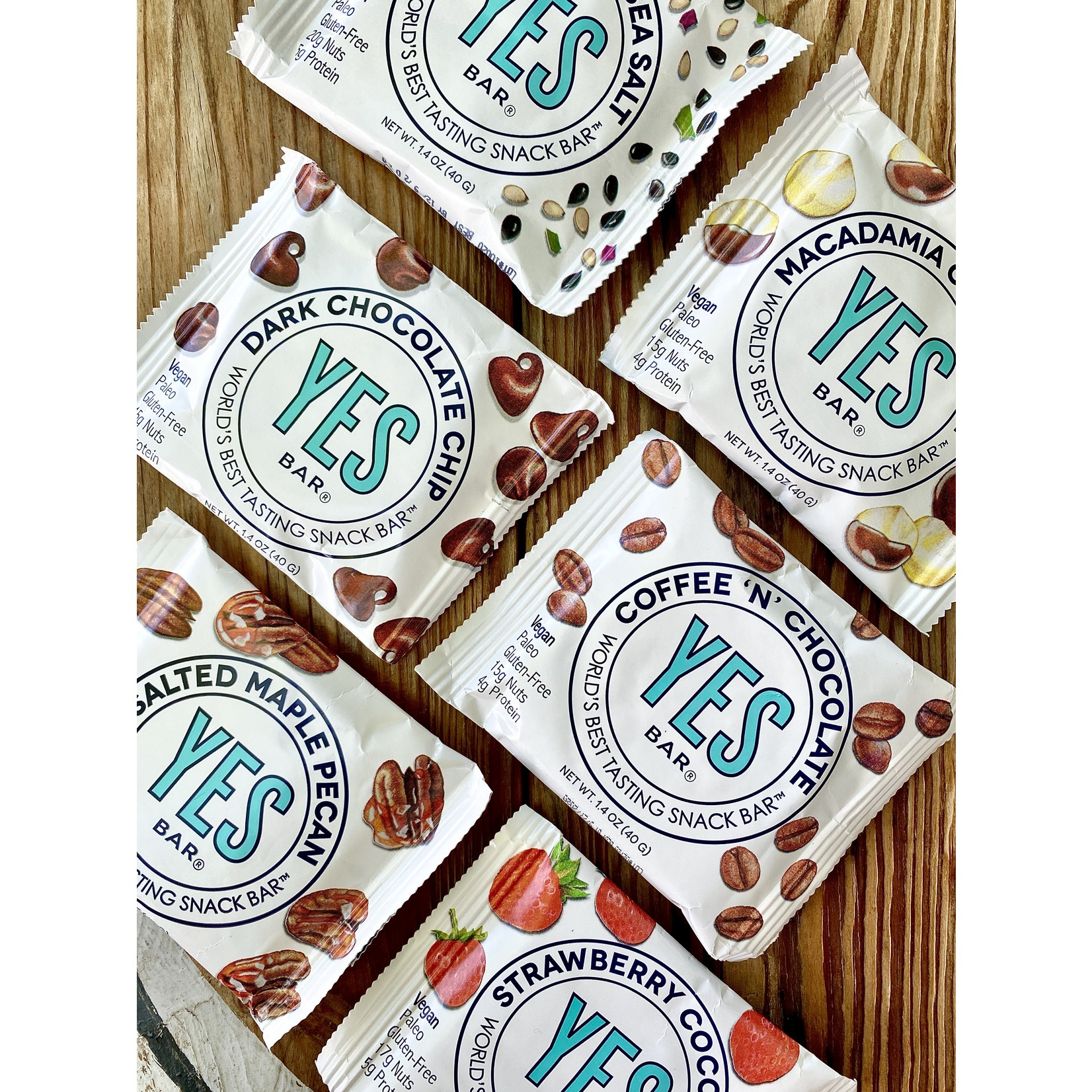 The YES Bar YES Snack Bars
