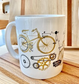 Cognitive Surplus Bicycle Science Mega Mug