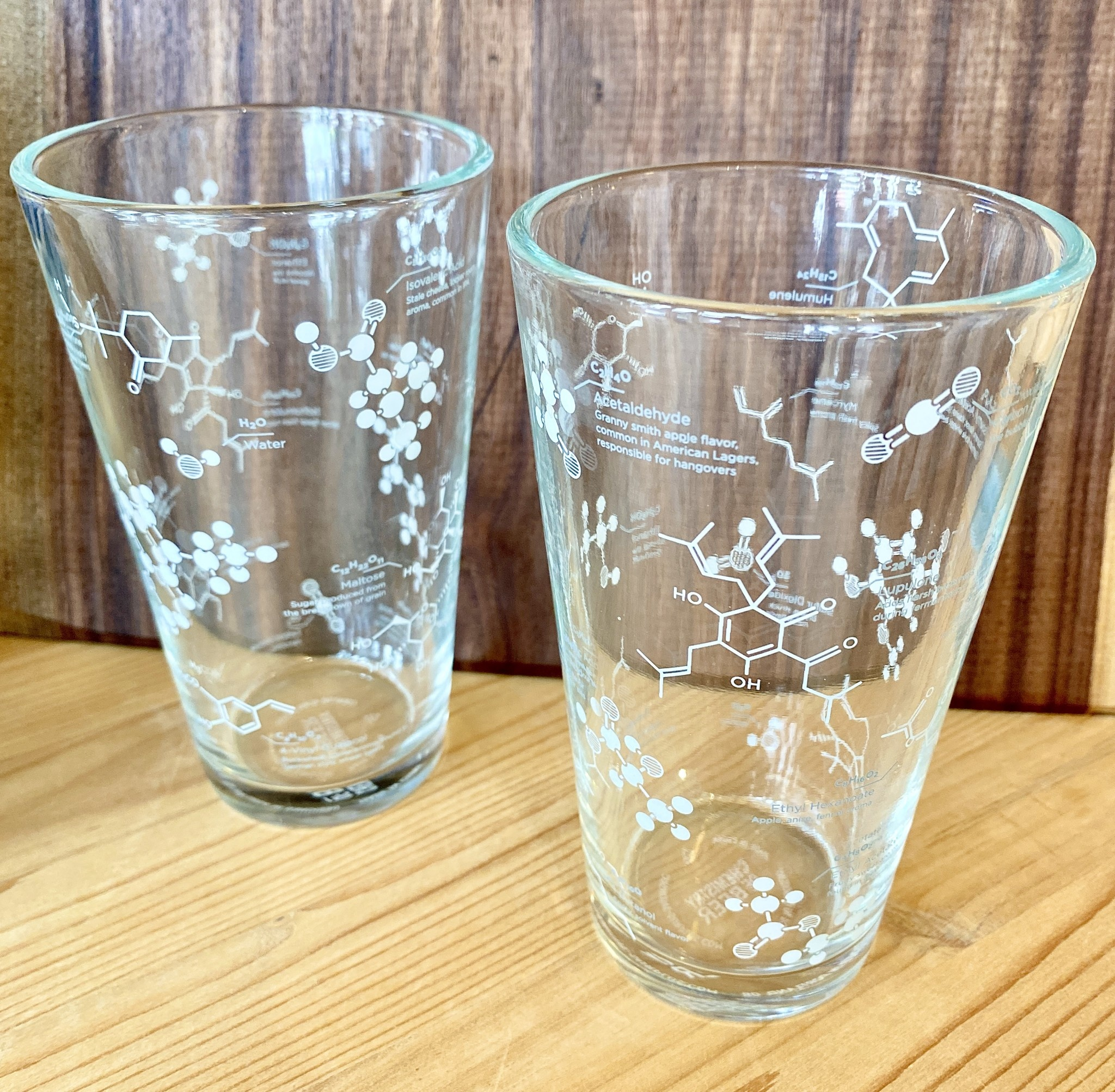 Cognitive Surplus The Science Of Beer Pint Glass Set Of 2