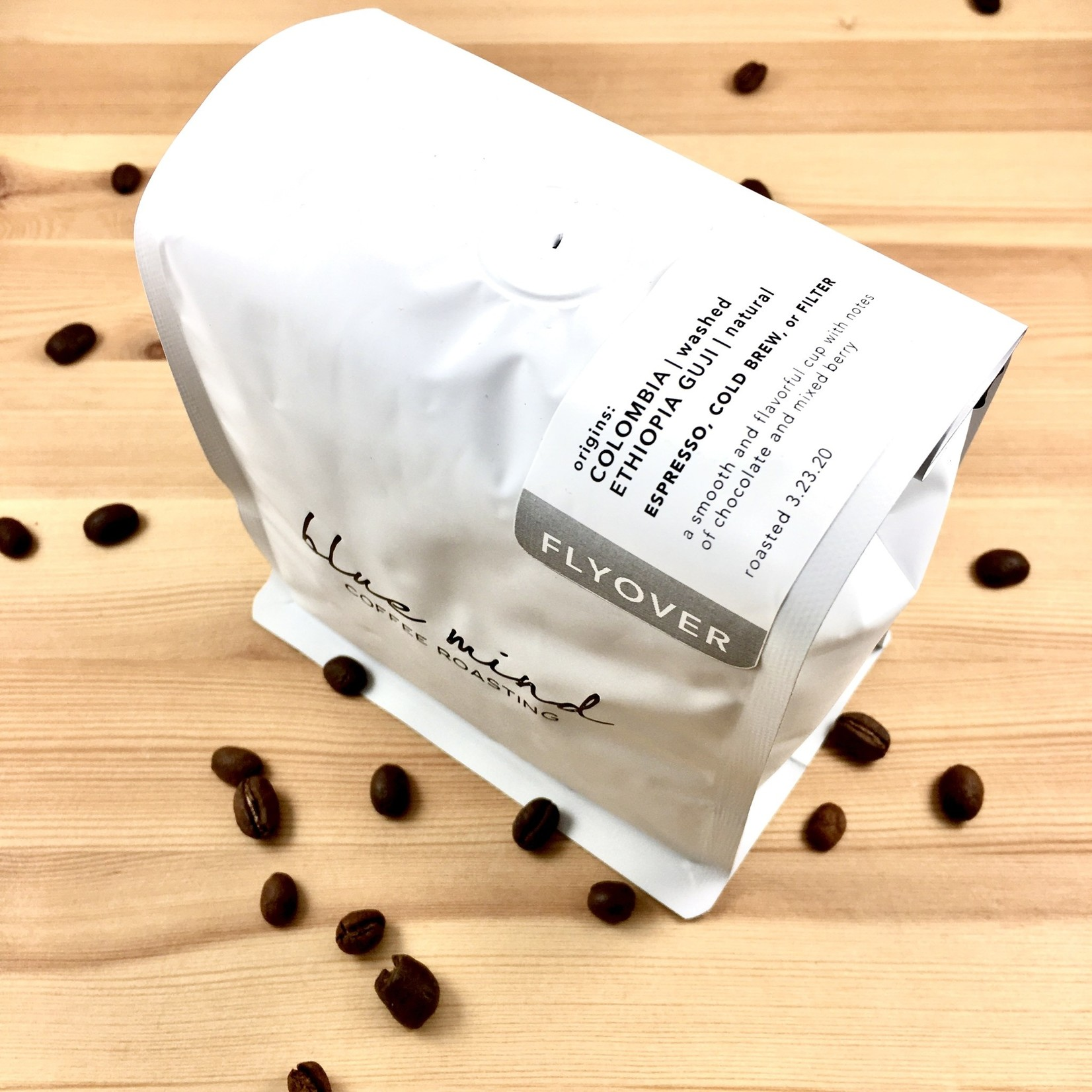 Blue Mind Roasting Blue Mind: Whole Bean Coffee 12oz. Bags