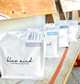 Blue Mind Roasting Whole Bean Coffee 12oz. Bags