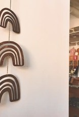 Savvie Studio Woodcut Rainbow Wall Mobile