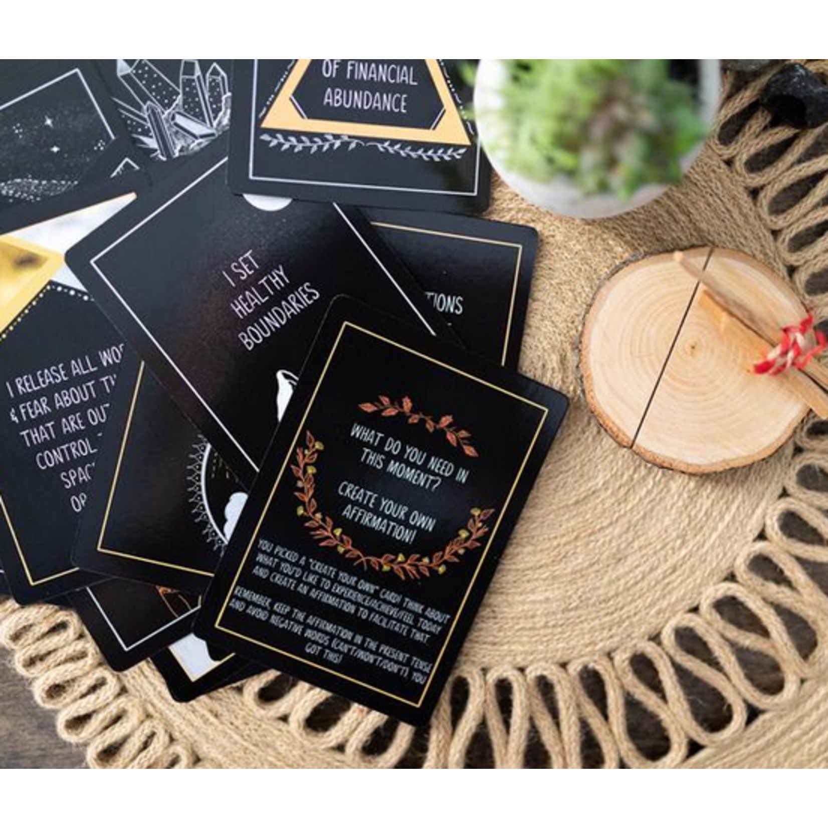 The Salvaged Sawhorse Wholeness Affirmation Card Deck