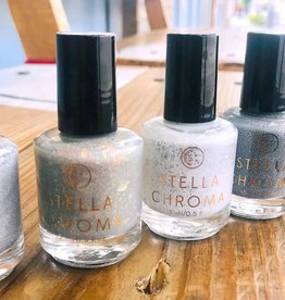 Stella Chroma / Paint Box Polish Silver Collection Nail Polish