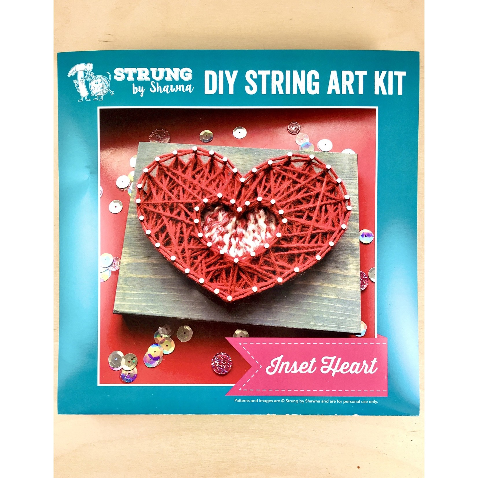 Strung By Shawna String Art Kits Collection 1