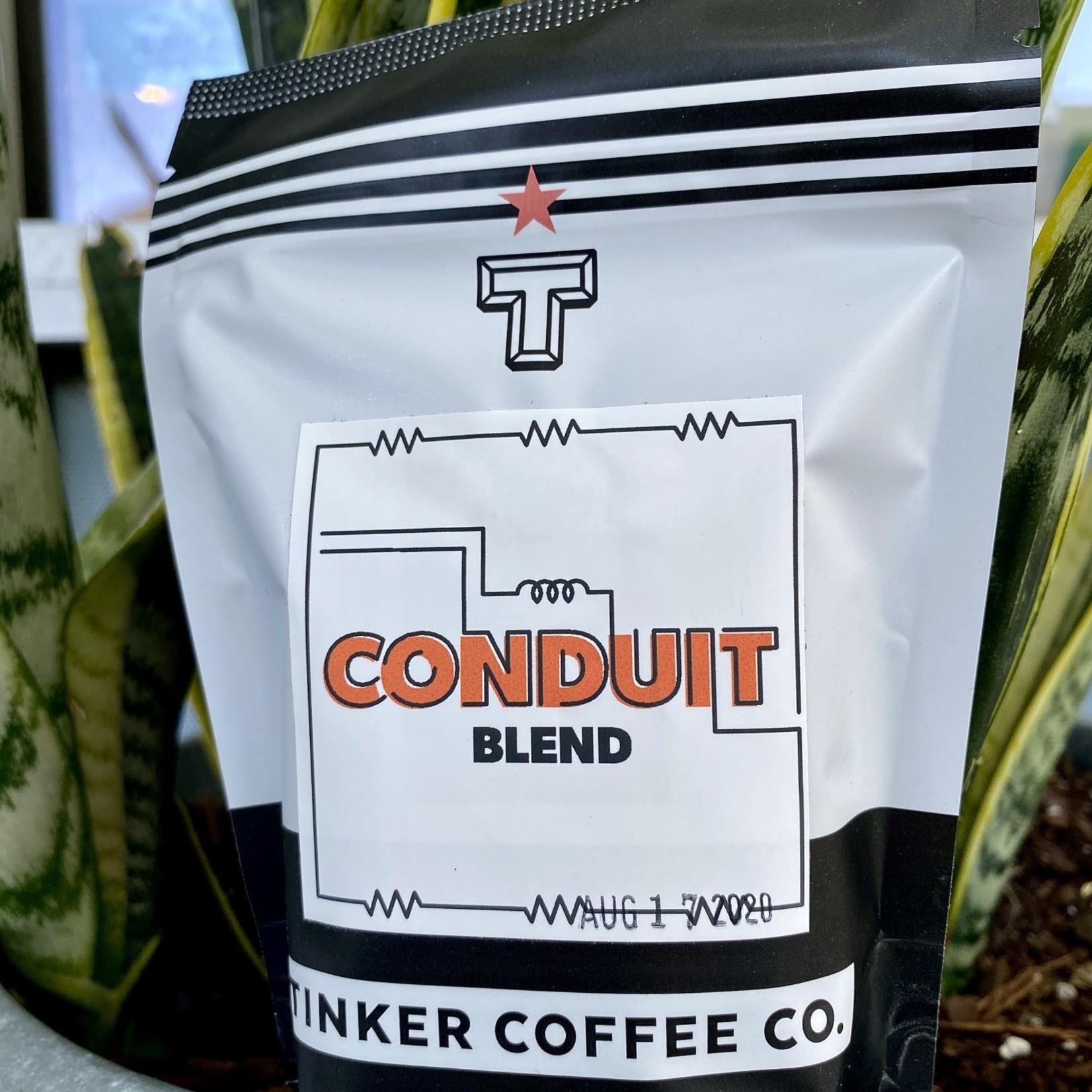 Tinker Coffee Co. Conduit Blend Whole Bean Coffee 4oz. Bag