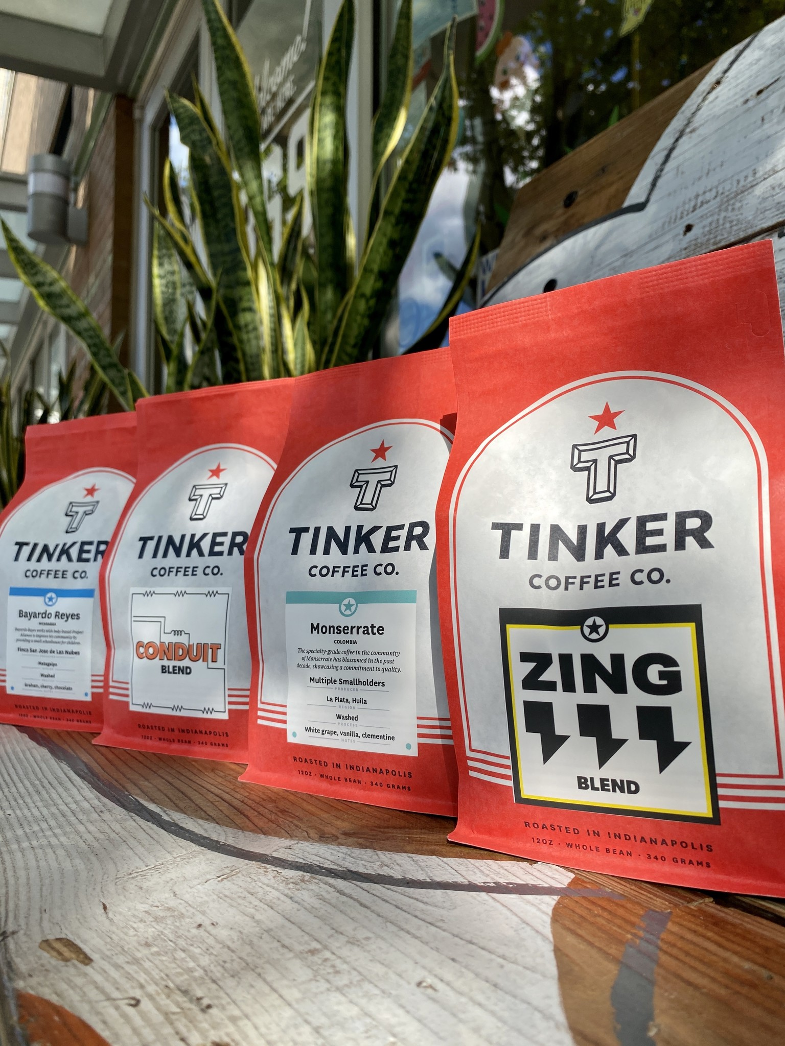 Tinker Coffee Co. Whole Bean Coffee 12oz. Bags
