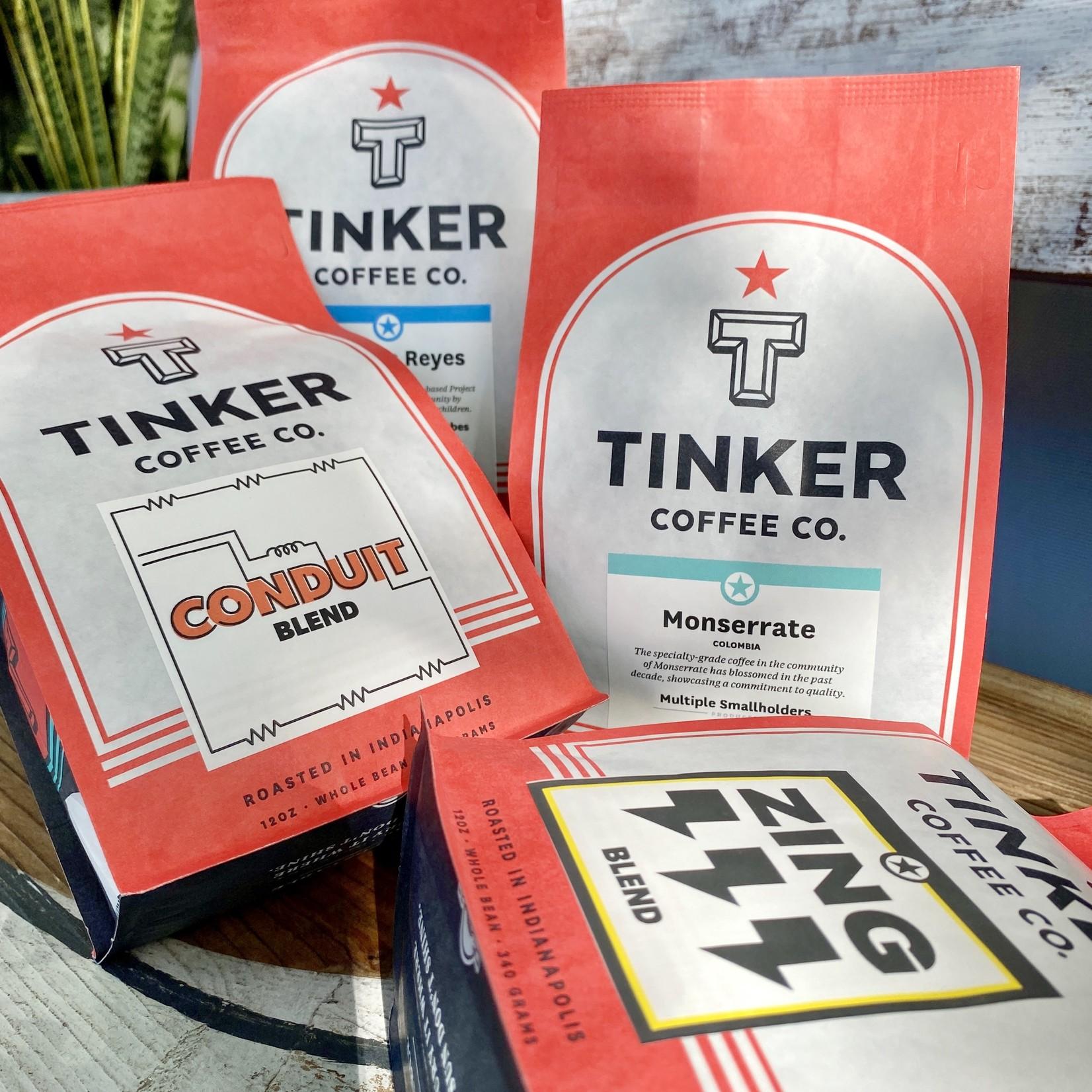 Tinker Coffee Co. Whole Bean Coffee 12oz. Bags