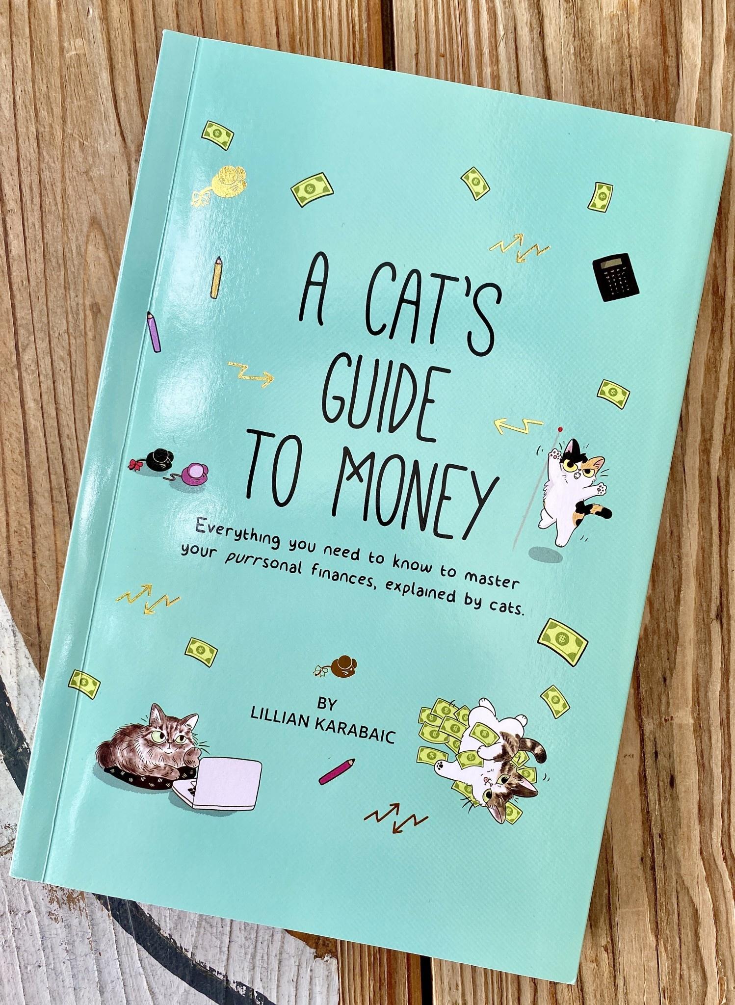 Lillian Karabaic A Cat's Guide To Money Book - Lillian Karabaic