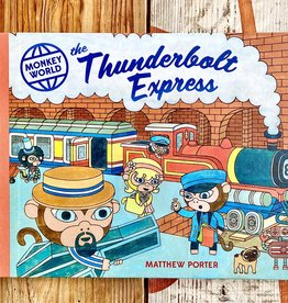 Matthew Porter Monkey World: The Thunderbolt Express Children's Book