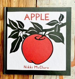 Nikki McClure Apple Hardcover Book - Nikki McClure