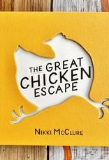 Nikki McClure The Great Chicken Escape Book Hardcover - Nikki McClure