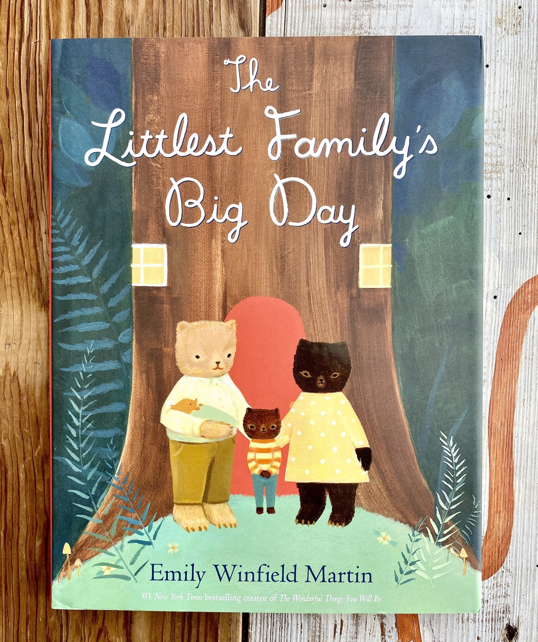The Black Apple The Littlest Family's Big Day Book - Emily Winfield Martin