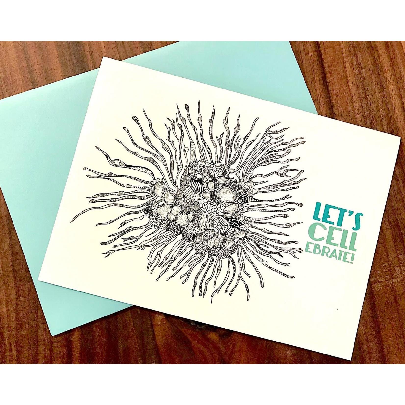 Artery Ink (LO) Stem CELLebrate Celebrate Greeting Card