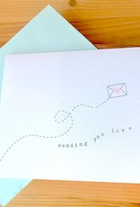 Haven Paperie Sending You Love Letter Greeting Card
