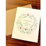 Lacelit (APO) Celebrating You Is Happy + True Greeting Card