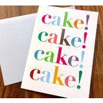 Design With Heart (QO) Cake! Cake! Cake! Greeting Card