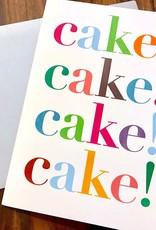 Design With Heart Cake! Cake! Cake! Greeting Card
