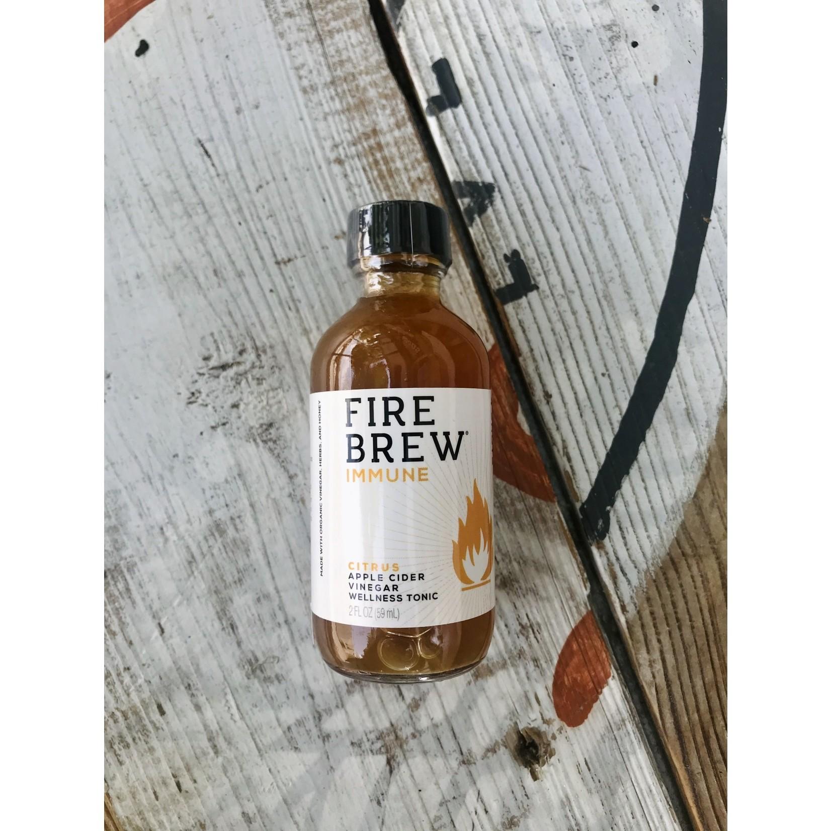 Mind Your Manna Fire Brew: Citrus Immune 2oz. Bottle