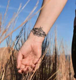 NatureTats Flight Temporary Tattoos