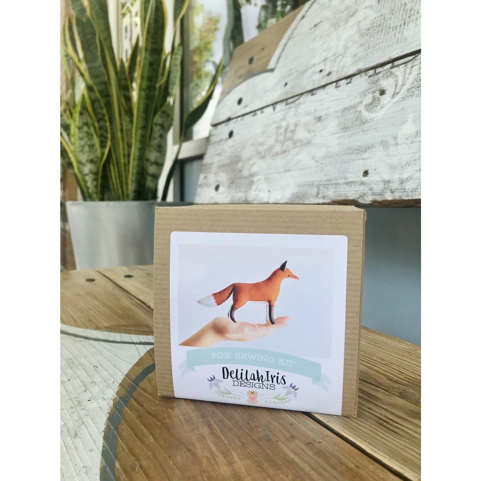DelilahIris Designs Animal Felt Sewing Craft Kits
